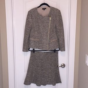 Ann Taylor jacket with skirt